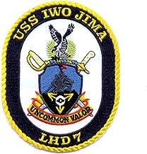 LHD-7 USS Iwo Jima Amphibious Assault Ship Patch