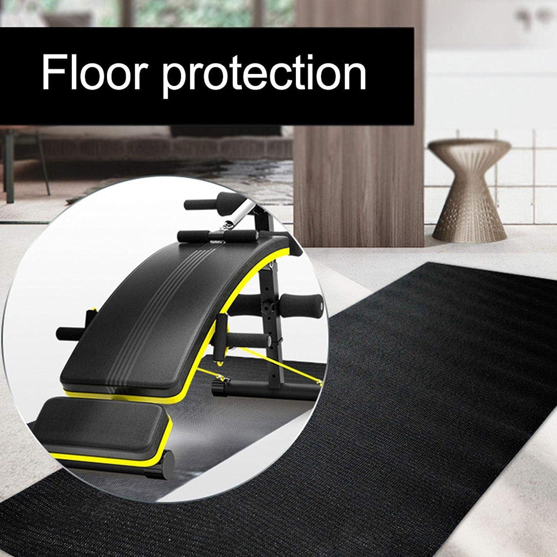 cycles crosstrainers et autres /équipements de gymnastique CHENSTAR Tapis de protection antid/érapant pour tapis de course rameurs