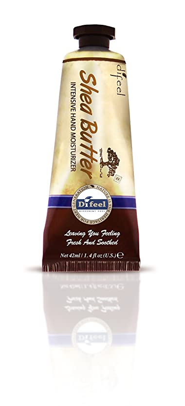 旧正月束行列Difeel(ディフィール) シアーバター ナチュラル ハンドクリーム 40g SHEA BUTTER 16SHEn New York