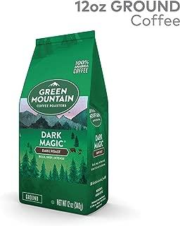 Green Mountain Coffee Roasters Dark Magic Ground Coffee, Dark Roast, 12 Ounce