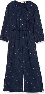 NAME IT Nkfromelia LS Jumpsuit Pantalones de Peto para Niñas