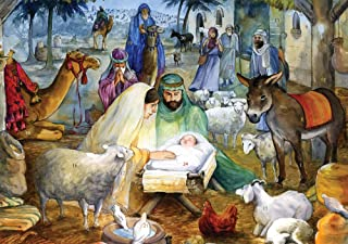 Newborn Child Nativity Advent Calendar (Countdown to Christmas)