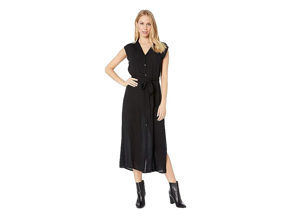 Billabong Little Flirt Maxi Dress (Black) Women