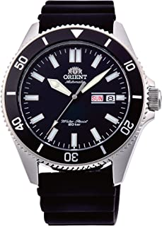 Orient Mens Analogue Automatic Watch with Rubber Strap RA-AA0010B19B