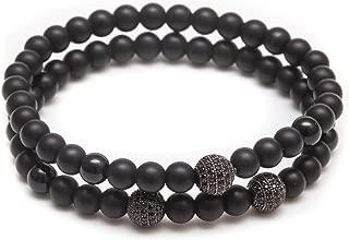 Best mens black onyx bracelet Reviews
