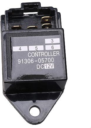zt truck parts Time Relay Timer Glow Lamp 17558-6599-1 17558-65991 for Kubota DC12V NGK Lamptimer S85NR