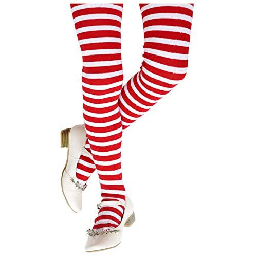 069b01494c9 Funny Party Hats Funny Thigh High Socks - Costume Tights - Costume  Accessories