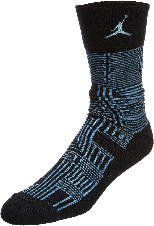631711-010 UNISEX XI SNEAKER+ SOCK JORDAN BLACK/LEGEND BLUE/LEGEND BLUE