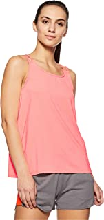 Puma TRANSITION Tank Soft Fluo Peach Pink Shirt For Women, Size L