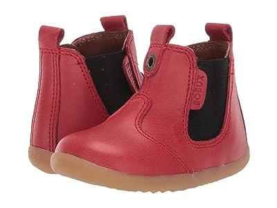 Bobux Kids Step Up Jodhpur Boot (Infant/Toddler) (Red) Kid