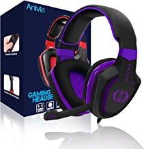 Anivia PS5 Gaming Headset, PC Gaming Headset for PS4,AH28...