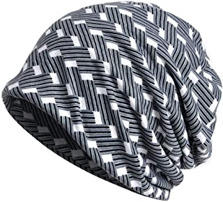 Cotton Beanies Chemo Caps Cancer Headwear Skull Cap Knitted hat Scarf for Womens Mens