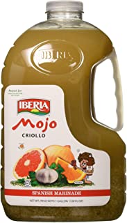 Iberia Mojo Criollo, 128 Fl. Oz, 1 gallon Spanish Marinade Perfect for Marinating Chicken, Beef & Pork, Made With Real Orange Juice