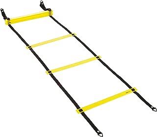AmazonBasics Nylon Agility Workout Training Ladder - 15 Feet, Yellow and Black