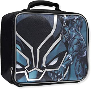Bioworld Merchandising, Inc. Marvel Avengers Black Panther PVC & BPA-Free Insulated Lunch Tote Box