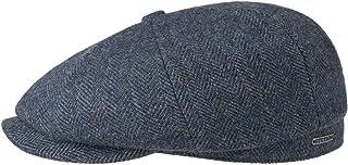Stetson Casquette Hatteras Classic Wool Homme - Type Gavroche Laine avec Visiere, Doublure, Doublure Automne-Hiver