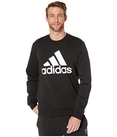 adidas Must Have Badge of Sport Fleece Crew (Black) Men