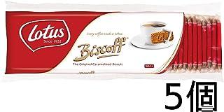Lotus original caramel biscuit 50P 5-piece set
