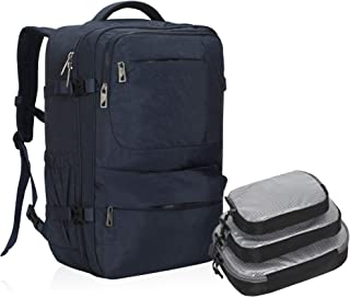 44L Carry on Backpack Flight Approved Compression Travel Pack Cabin Bag