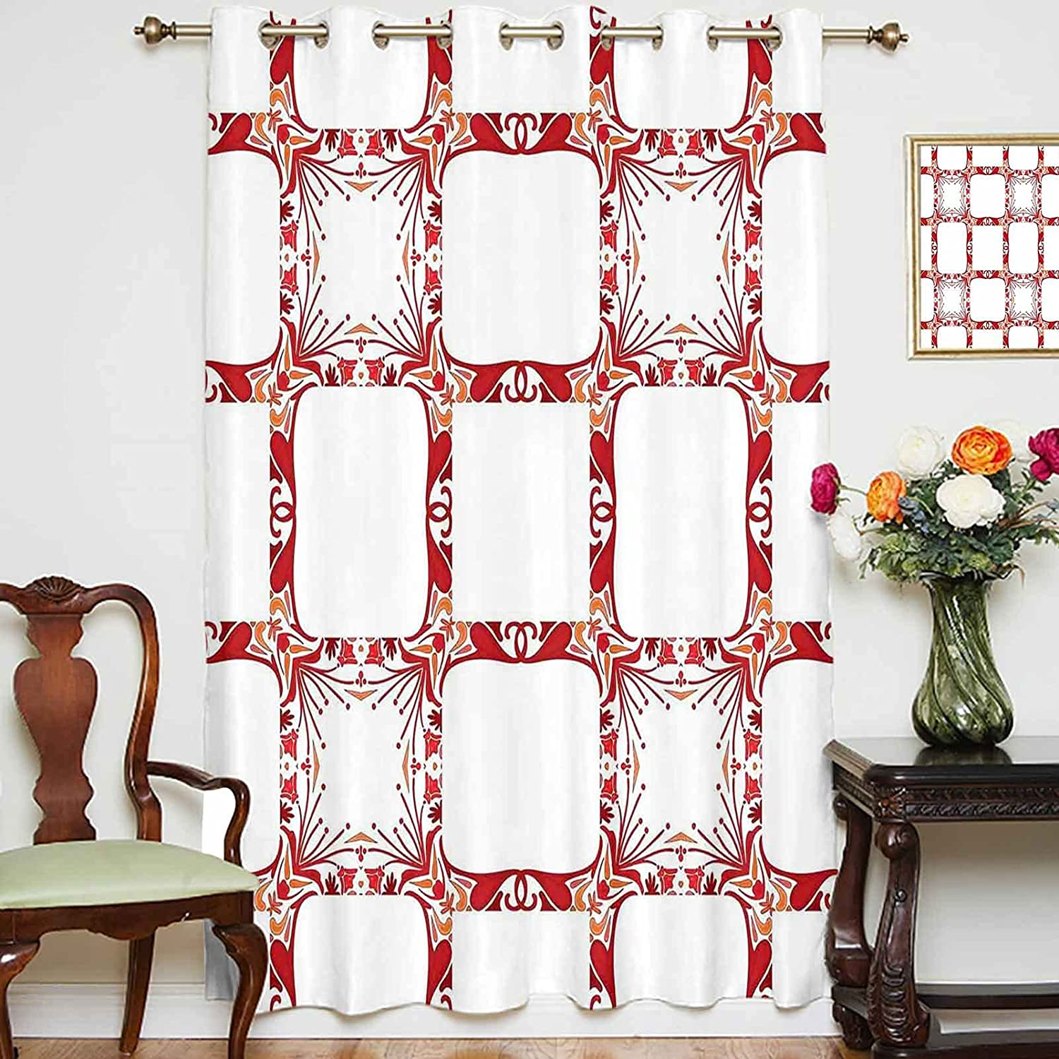 Blackout Shading Curtains Modern and Mix Los Angeles Mall Nostalgic Square Popular product Shaped