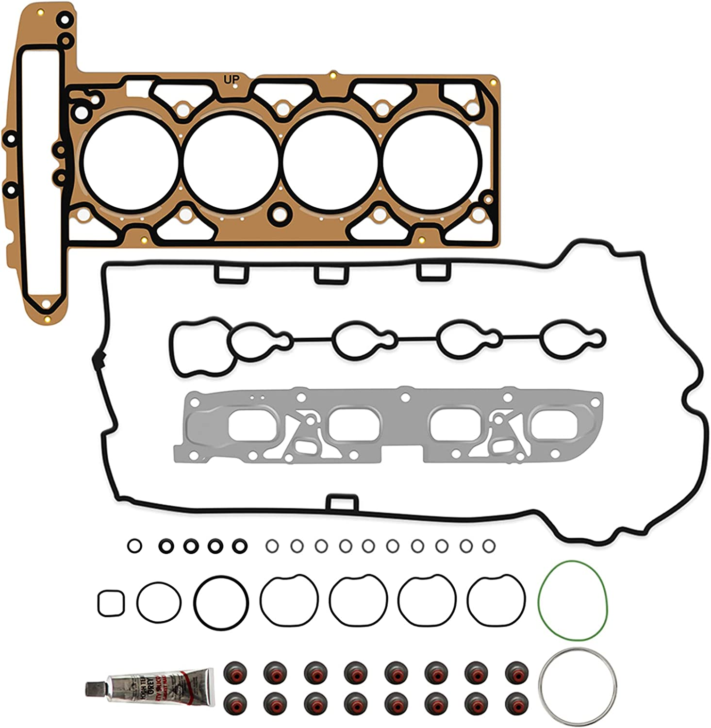 ECCPP Engine Replacement Head Gasket Compatible with Easy-to-use Sets 2010 2 Manufacturer direct delivery