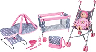 Lissi 5Piece Play Set with Baby Doll & Accessories, 16 inches
