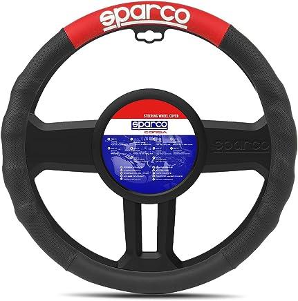 Delux Truck HGV steering wheel cover large 46cm 48cm red /& black wide grip
