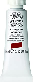 Winsor & Newton Designers Gouache Tube, 14ml, Alizarin Crimson