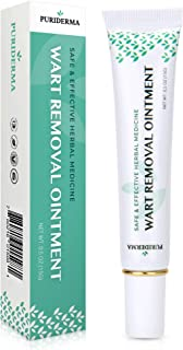 Wart Removal, Wart Remover Ointment Maximum Strength with Natural Ingredients, Painlessly, Easy and Quick Results for Plantar, Common, Genital Warts