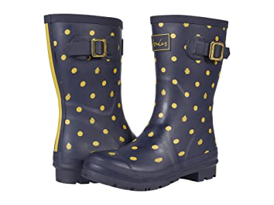 Joules Molly Welly (Navy Ladybird) Women