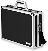 Vaultz Locking Laptop Case, Black (VZ01216)