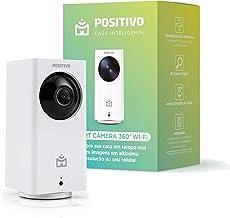 Smart Câmera 360º Wi-Fi Positivo Casa Inteligente, 1080p Full HD, 15 FPS, áudio bidirecional, detecção de movimentos, visã...