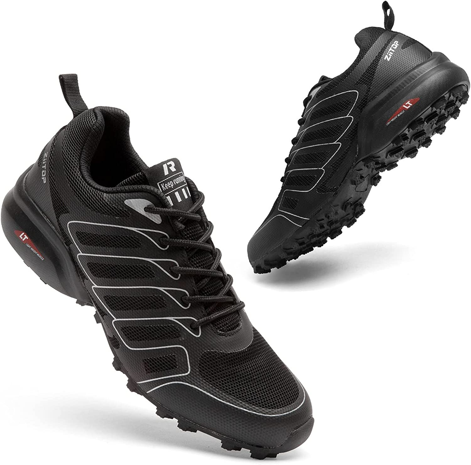 ziitop Mens Trail Running Shoes Wild Max 48% OFF Men Lig Al sold out. Sneakers Hiking for