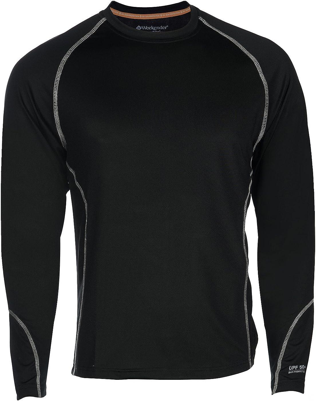 Weekender Men's Aqua Solar Rashguard Swim LS Shirt