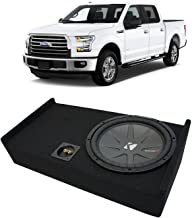 Compatible with 2009-2015 Ford F-150 Super Crew Truck Kicker CompR CWR12 Single 12