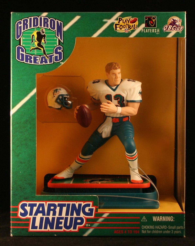 DAN MARINO   MIAMI DOLPHINS 1997 NFL GRIDIRON GREATS Starting Lineup Deluxe 6 Inch Figure