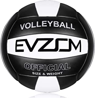 EVZOM Super Soft Volleyball Beach Volleyball Official Size 5 for Outdoor/Indoor/Pool/Gym/Training Premium Volleyball Equip...
