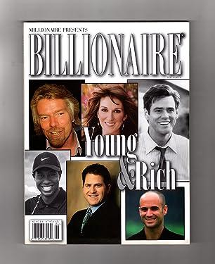 Millionaire Presents Billionaire Magazine - 2002, Volume 6, Number 6. Richard Branson, Tiger Woods, Celine Dion, Jim Carrey, Michael Dell, Andre Agassi