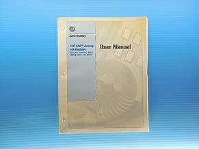 SLC 500 ANALOG I/O MODULES ALLEN BRADLEY USER MANUAL INSTRUCTION BOOKLET