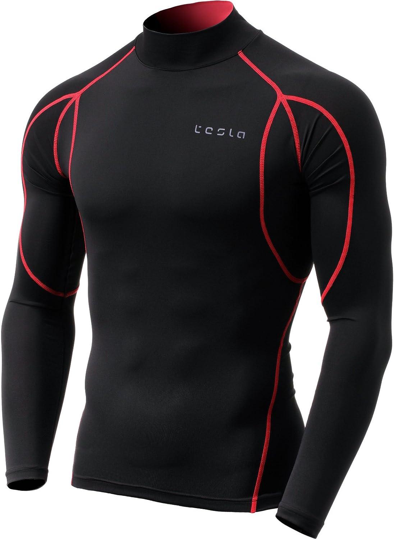TSLA Men's UPF 50+ Long Sleeve Rash Dry Guard trend rank UV SPF Max 84% OFF Swim Quick