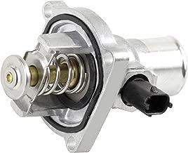 BOXI Engine Coolant Thermostat Housing Kit Assembly Fits 2009-2011 Chevrolet Aveo/Aveo 5, 2011-2016 Chevrolet Cruze / 2012-2017 Chevrolet Sonic / 2009-2010 Pontiac G3 / 96984104 55564891