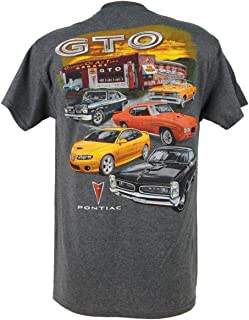 Pontiac GTO Classic Multi Car Garage Adult T-Shirt
