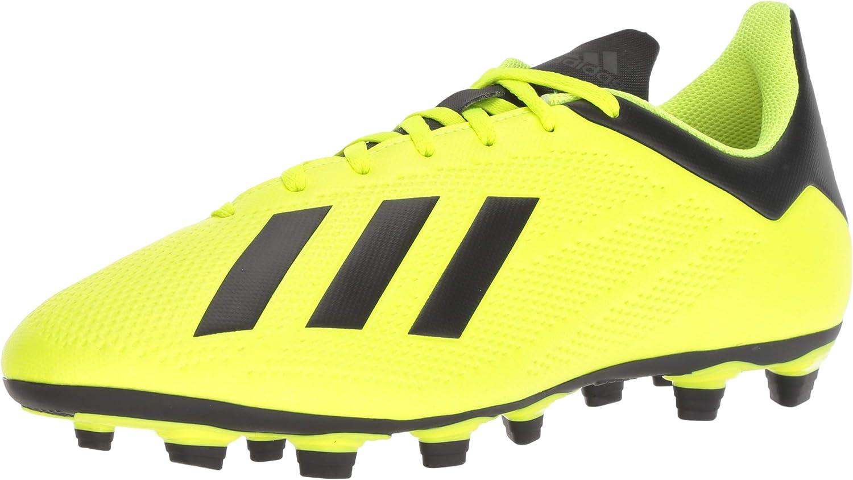 adidas 贈り物 Men's X 18.4 Soccer Ground Shoe 永遠の定番モデル Firm