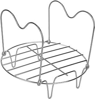 Lakatay Steamer Rack Trivet with Handles for Instant Pot/Electric Pressure Cookers 6Qt/8Qt