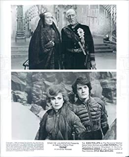 Vintage Photos 1984 Press Photo Actors Sian Phillips, Jose Ferrer, Francesca Annis - rkf8999