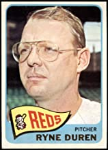 Deans Cards 5 EX Reds 1965 Topps # 339 Ryne Duren Cincinnati Reds Baseball Card