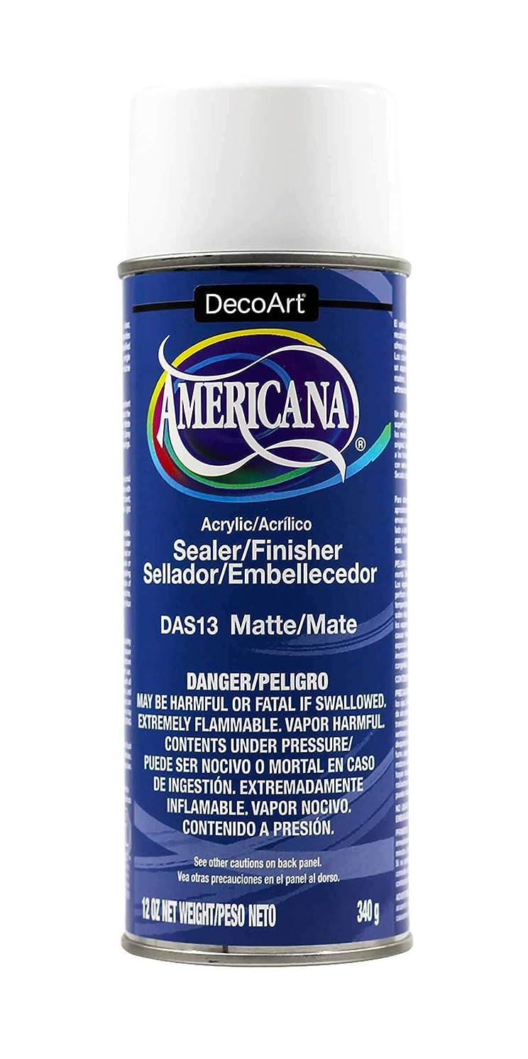 DecoArt 12-Ounce Americana Acrylic Sealer/Finish Aerosol Spray, Matte