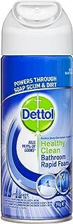 Dettol Healthy Clean Bathrrom Rapid Foam Spray, 390g