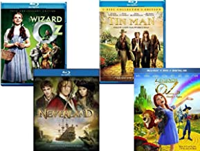 Then & Now Wizard of Oz Collection - The Wizard of Oz + Tin Man 2-Disc Collector's Edition + Neverland + Legends of Oz: Dorothy's Return Blu-ray Bundle Set