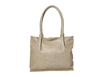 Hammitt Oliver Zip (Pewter/Brushed Silver) Handbags